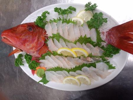 オジサン(魚)料理は刺身で!高級魚なの?味や名前の由来/値段/漢字も調査!