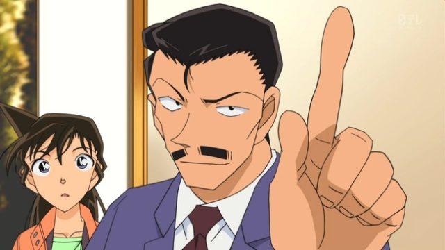 毛利小五郎の年齢や身長とは?柔道で得意な元刑事?嫁や声優は誰?