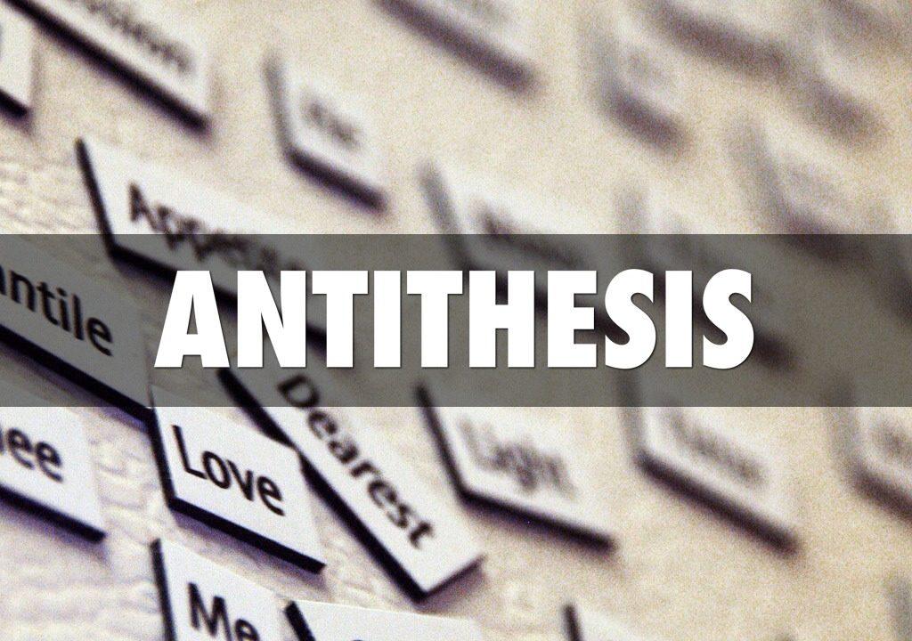 アンチテーゼの意味とは?国語辞典・知恵袋では何て解説?英語が語源?
